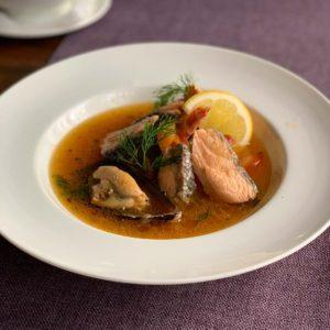 steak house суп с морепродуктами
