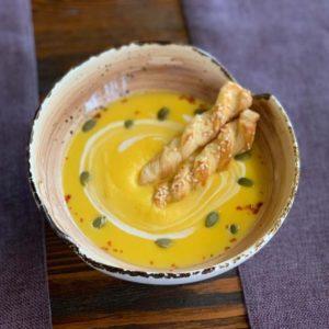 steak house тыквенный суп