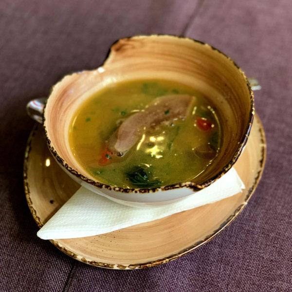 sup s yazykom yagnenka